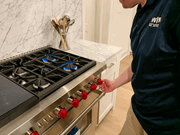 WIN Home Inspection Stove
